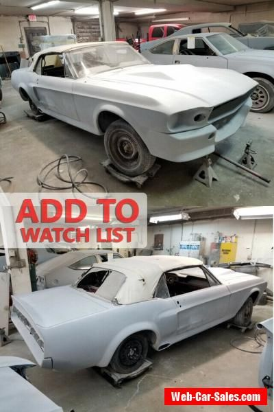 1968 Ford Mustang Eleanor Gt500e Ford Mustang Forsale Canada