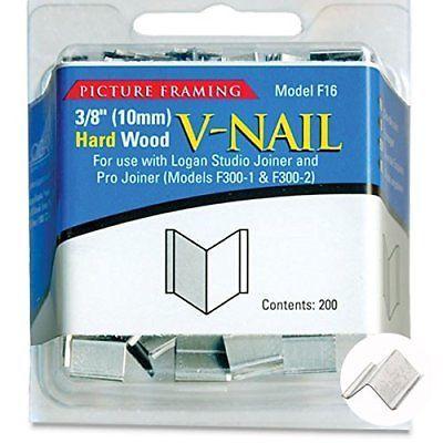 Logan Graphics Framing Hardware Frame Joiner V Nails 3 8 Inch For Hardwood Frame Matting Frame Hardwood For Sale