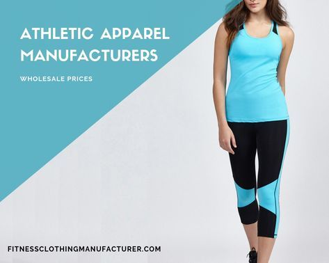wholesale athletic apparel distributors workout clothing manufacturers