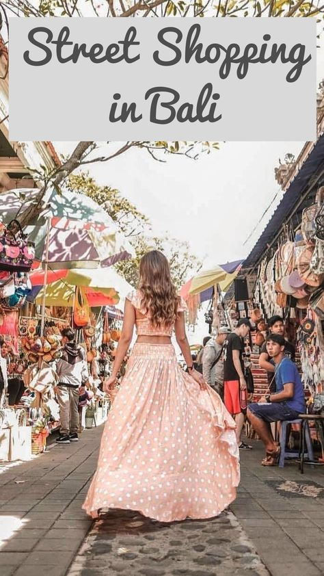 ✅✅Street Shopping In Bali