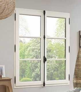 fenêtre bois crémone ancienne volets portes fenetres