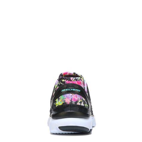 Women's Skech Flex Tropical Vibes Memory Foam Running Shoe
