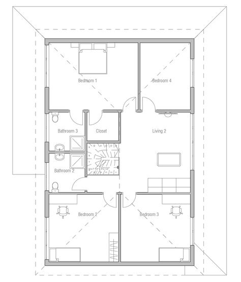 House Plan Ch179 House Plans Create Floor Plan Floor Plans