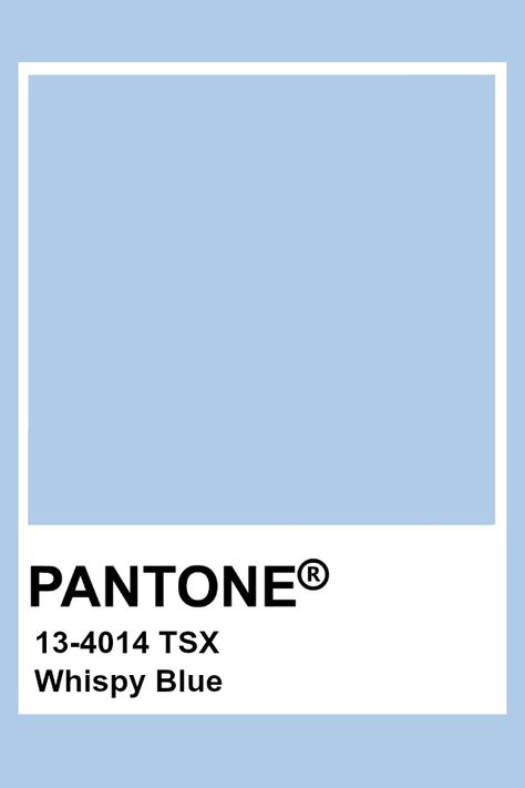 Pantone Whispy Blue
