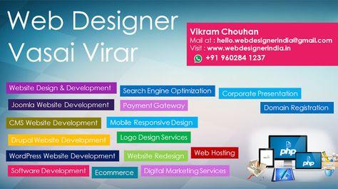 India Web Designer Web Designer Vasai Virar Web Design Web Design Company Design