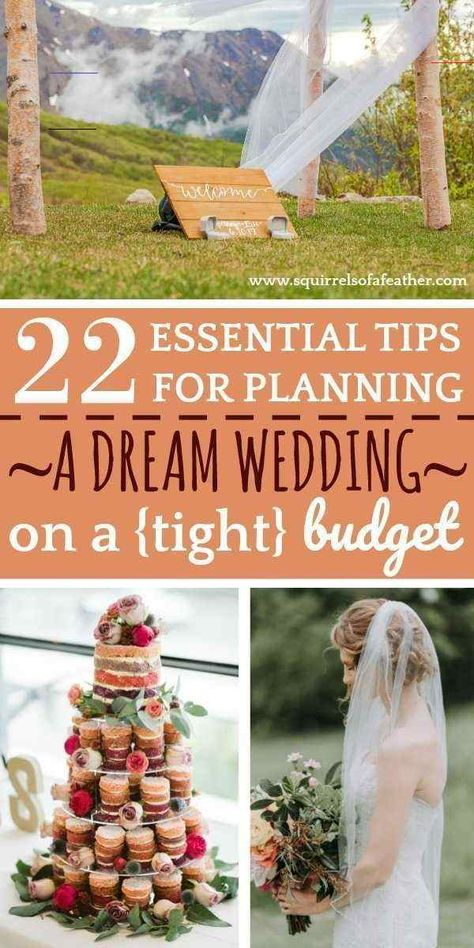 Budget Wedding Ideas for Saving Your Dream Wedding If you are engaged and are planning your dream wedding, you have to read these wedding planning tips. These are the best budget wedding ideas and tips ever! They helped us to save 30k on our wedding day. If you want a dream wedding, but have a tight budget, try using these ideas and see how to save money on your wedding. Don't sacrifice your dream wedding. Learn how to budget  and save money to have the wedding of your dreams #wedding #weddingid