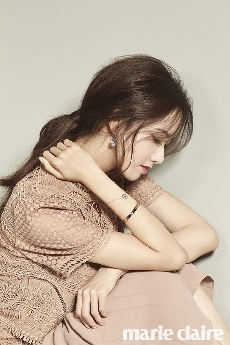 Girls' Generation's YoonA Is an Elegant Fall Beauty for Marie Claire