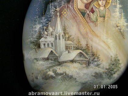 Купить или заказать русь святая .кулон. в интернет-магазине на Ярмарке Мастеров. авторская работа.ручная роспись яичной темперой.