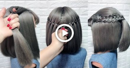 Cute Little Girls Hairstyle Tutorials Easy Hairstyles For Short Hair Part 2 Short Hair Styles Easy Little Girl Hairstyles Cute Little Girl Hairstyles