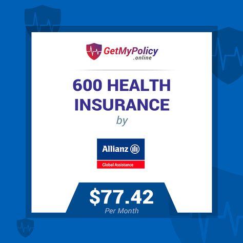 Allianz Budget Visitors Hospital Only For 600 Visa