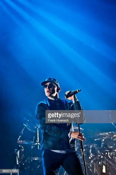 Singer Chester Bennington of the American band Linkin Park