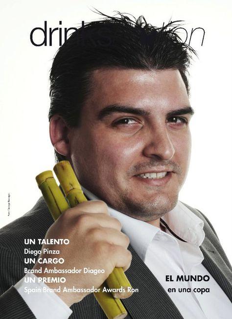 Un talento: Diego Pinza Revista Bar Business España Edición Junio 2011 Foto: © George Restrepo 2011 http://cocteleriacreativa.com/esp