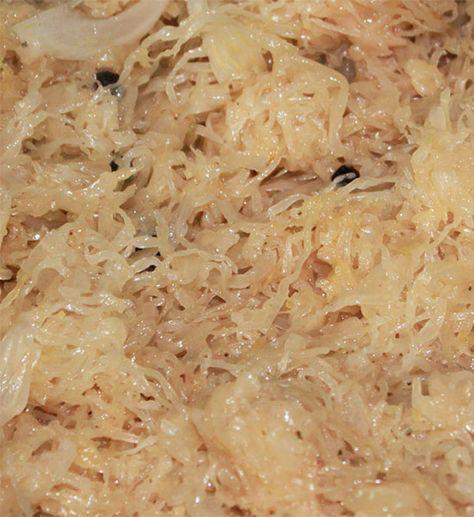 Découvrez tout ce que vous pouvez cuisiner avec de la choucroute - champignon de maison merule