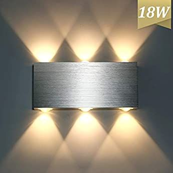 Yafido Wall Lights Indoor LED 40CM Up Down Wall Sconce Lamp