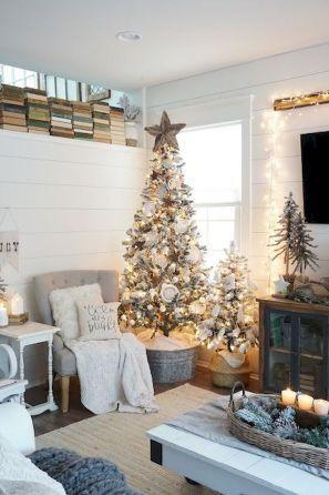 Rustic Farmhouse Christmas Tree Ideas On A Budget 17 Farmhouse Christmas Decor Christmas Home Farmhouse Style Christmas