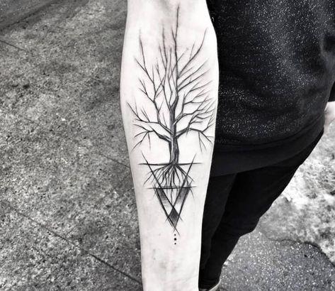 Tree tattoo by Inne Tattoo | Post 27705