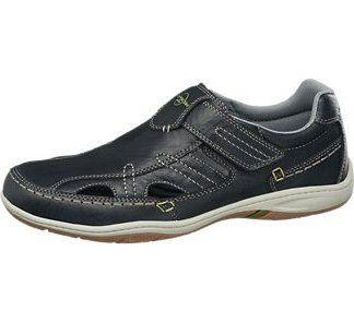 1340802 Memphis One Lacivert Erkek Bağcıksız Ayakkabı