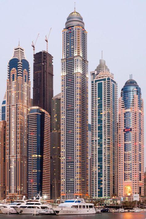 The Princess Tower — Dubai, United Arab Emirates feet) - Duncan Chard/Bloomberg Architecture Unique, Futuristic Architecture, Architecture Company, Building Architecture, Landscape Architecture, Dubai City, Dubai Uae, Dubai Tower, Amazing Buildings