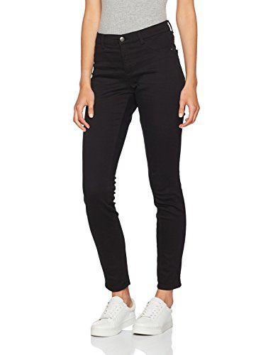 Sisley 100W33l34 Jeans Damen Skinny Pants Schwarzblack QrCoeWBdx
