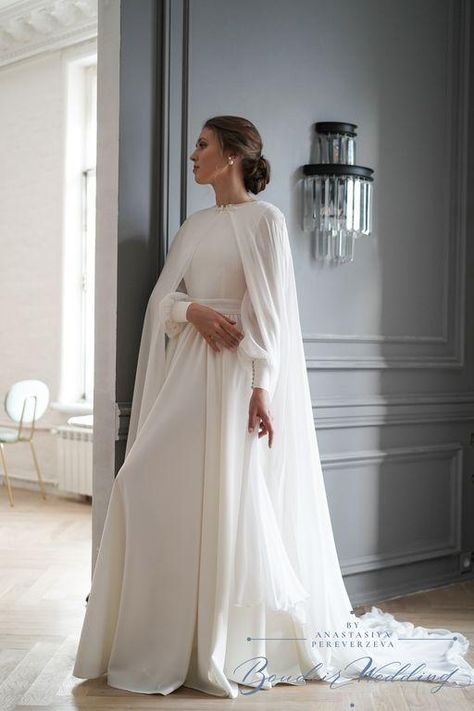 Cape with slits for hands - XS/40