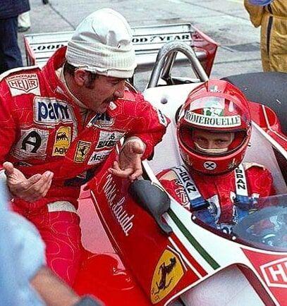Pin By Leo On F1 In 2020 Racing Driver Clay Regazzoni Ferrari F1