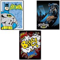Batman and Wham Tin Sign Set  http://www.retroplanet.com/PROD/38384