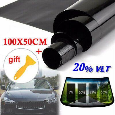 Ad Ebay Sticker Scraper Home Window Tint 20 Vlt Black Film Foil