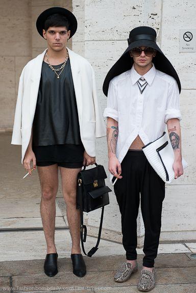 Chris & Cesar - NY Street Fashion.