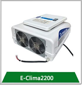 E Clima2200 No Idle Truck Air Conditioners Tractor Cabs Commercial Vehicle Trucks