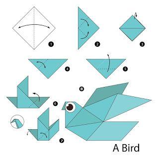 صور مطويات 2021 اشكال مطويات بالورق الملون Useful Origami Origami Easy Origami Bird