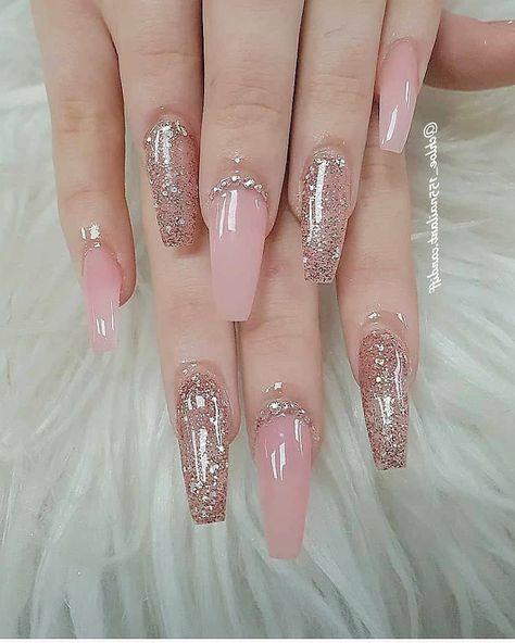 short coffin nails - ingrown fingernail - #party - #yorkfashion - #photography Glitter Nails 1-3? nailfeedz By chloe_155nailart.cardiff source fashion_b_1