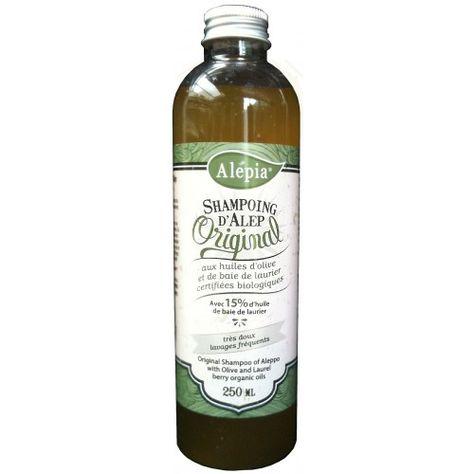 ALEPIA - Shampoing d'Alep, original 15% Laurier - Curlymari.com