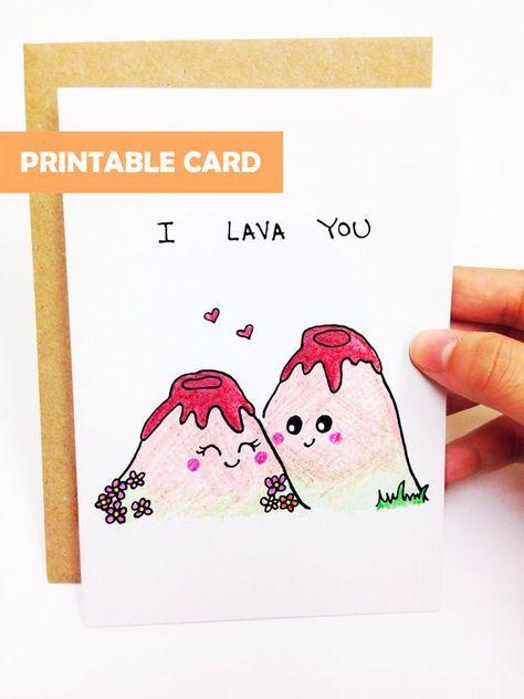 Printable love card, digital anniversary card, funny love card, funny card for boyfriend, i love you