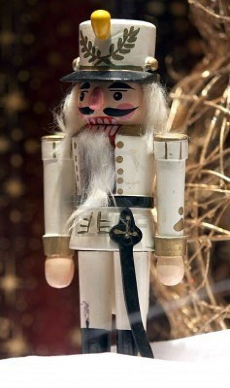 In anticipation of family Christmas in my home next year, I'm hoping to decorate in classic style and avoid the cheese.  Nutcrackers accomplish this, right?  I'm so afraid of corny holiday decor!