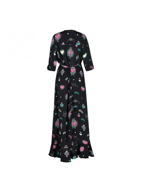 STARDUST Sweetheart Flamenco Dress Black Multi | Atterley