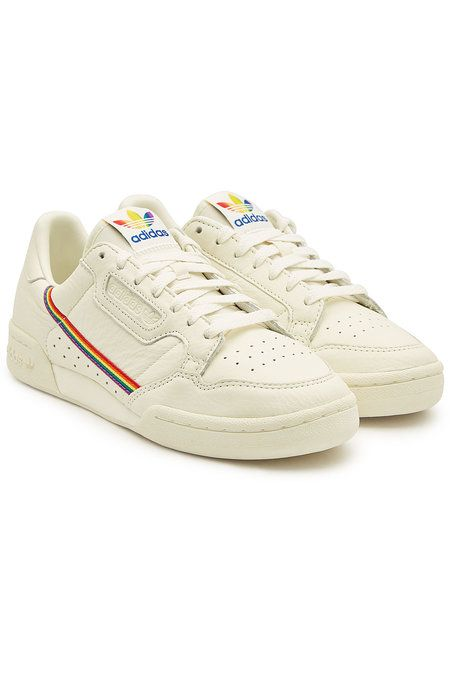 Adidas Originals - Continental 80 Pride Leather Sneakers ...