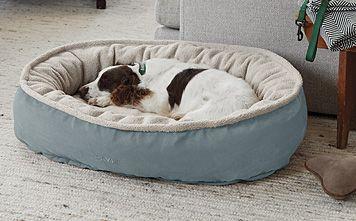 Comfortfill Eco Wraparound Dog Bed With Fleece Dog Bed Large Dog Bed Sizes Dog Bed