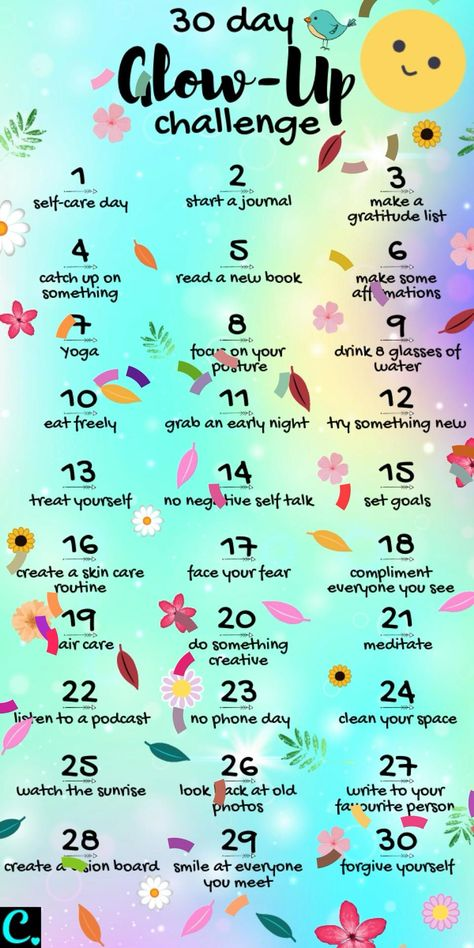Treat yourself to this ultimate 30 day glow up challenge that everyone will notice! #glowup #glowupchallenge