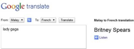 If You Go To Google Translator And Translate From English To