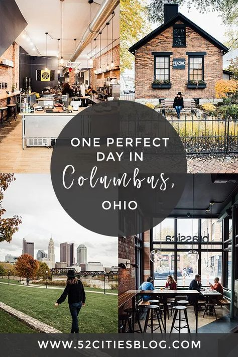 One day in Columbus, Ohio One day in Columbus, Ohio Traveling to Columbus and short on time? Check out this roundup of things to do in Columbus, Ohio for info on what to see, where to stay and more. Heading to Columbus and short on time? Check out t Columbus Weekend, City Of Columbus, German Village Columbus Ohio, Downtown Columbus Ohio, Columbus Travel, Oh The Places You'll Go, Places To Travel, Places To Visit, One Day Trip