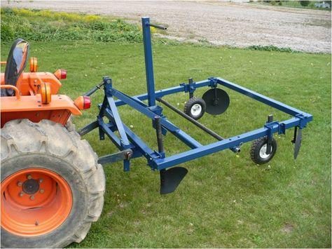 Plastic Layer Attachment Demented Metal Mulch Garden Tractor