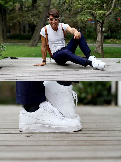 online retailer 52b8f 02d52 Nike Air Force 1 07 Pure White  Nike air force  Pinterest  Nike air  force men, Nike air force 1 outfit and Sneakers nike