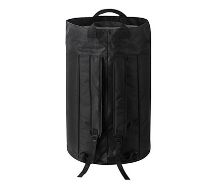 Oversized College Laundry Duffel Bag Black Dorm Laundry Supplies