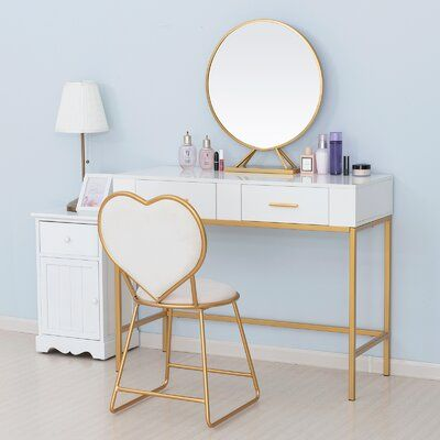 42 Makeup Vanity Table Designs To Decorate Your Home Girl Bedroom Decor Bedroom Design Room Decor