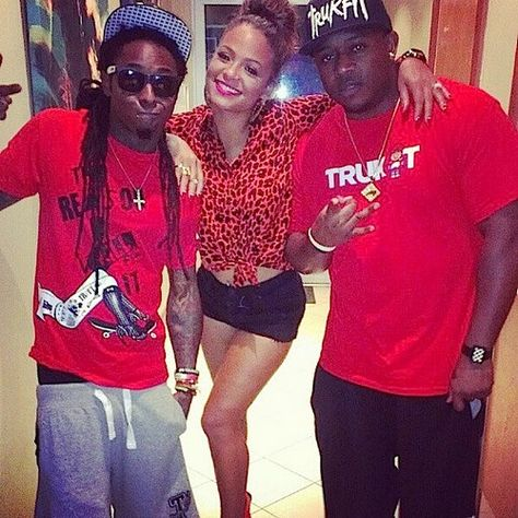som er Lil Wayne dating Christina Milian