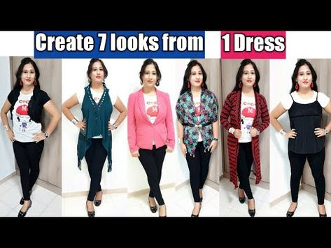 Get 7 Different Looks with 1 Dress