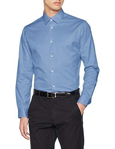 SELECTED HOMME Herren Slhslimpen-Pelle Shirt Ls B Noos Businesshemd