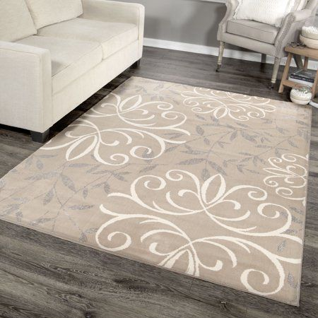 Better Homes And Gardens Iron Fleur Area Rug Or Runner Size 6 7