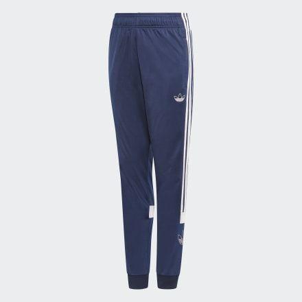 Adidas originals adibreak popper pants in purple Depop