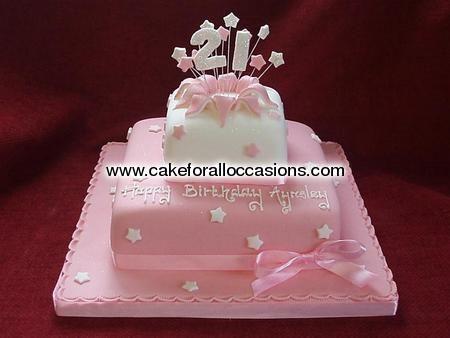 Elegant Birthday Cakes for Women | Cake L003 :: Women's Birthday Cakes :: Birthday Cakes :: Cake Library ...